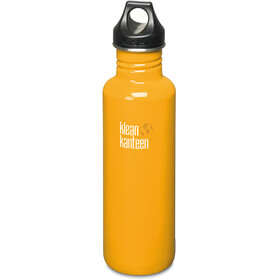 Klean Kanteen Classic Bottle Loop Cap/27oz 800ml Golden Poppy